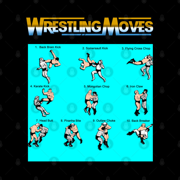 Wrestling Moves