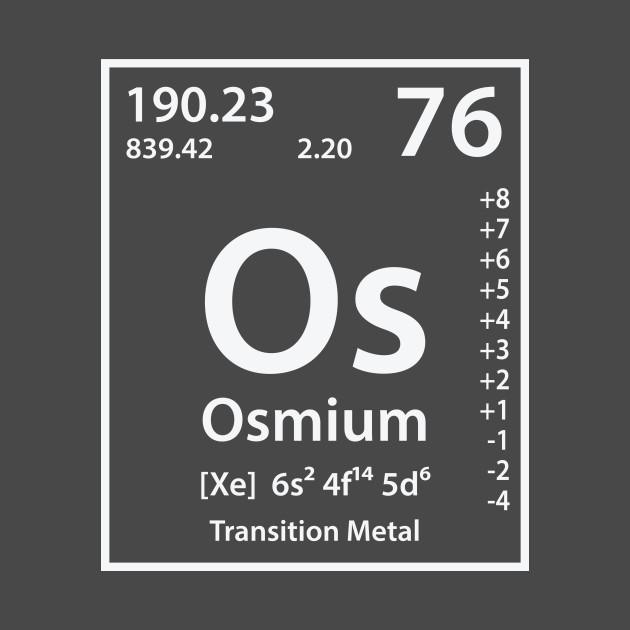 Osmium element osmium t shirt teepublic 1303118 1 urtaz Choice Image