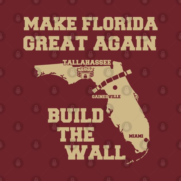 MAKE FLORIDA GREAT AGAIN (GARNET & GOLD)