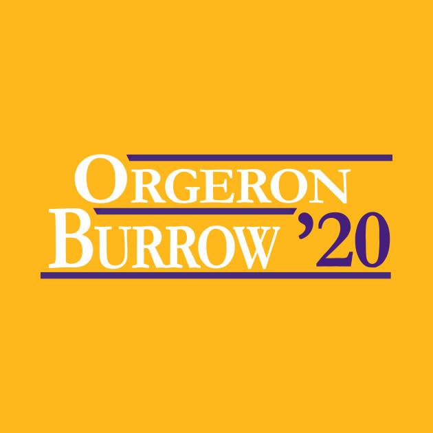 Orgeron |  Burrow 2020