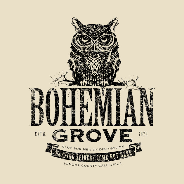 Image result for bohemian grove logo