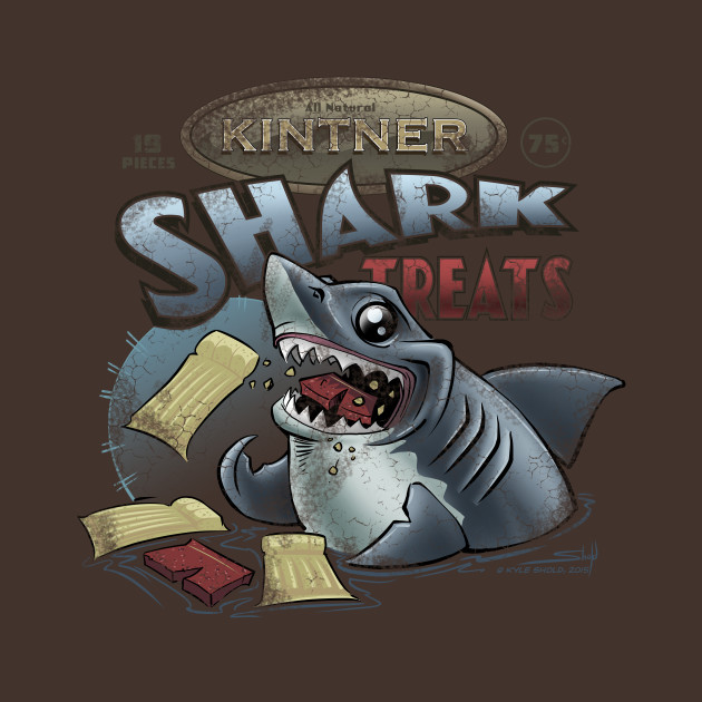 Kintner Shark Treats - Version 2 (Aged)