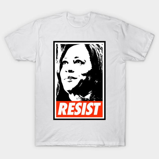 faa7db900cc3 Kamala Harris Resist - Kamala Harris Resist - T-Shirt
