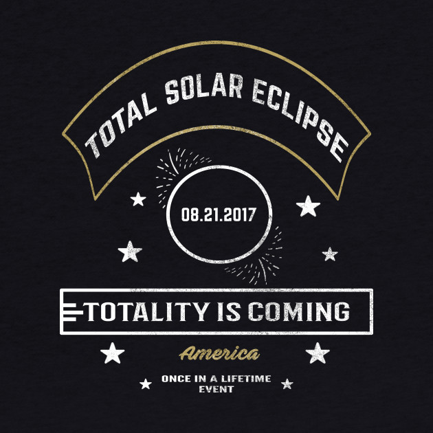 Vintage Total Solar Eclipse - 2017