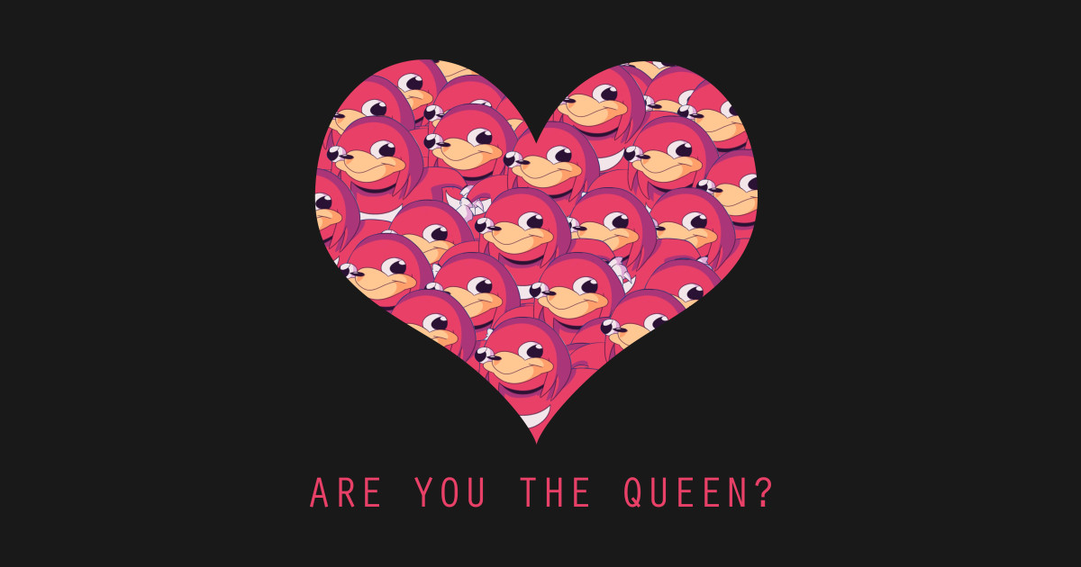 Ugandan Knuckles Valentines T Shirts Teepublic