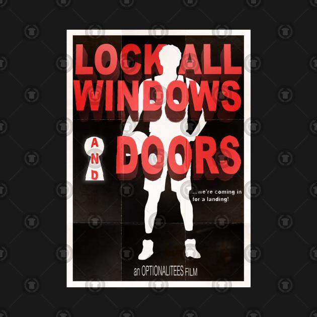 Lock All Windows and Doors