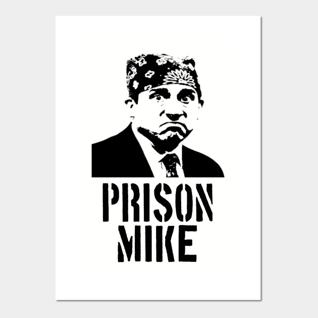 dfee5fe98 The Office - Prison Mike - The Office - Posters and Art Prints ...