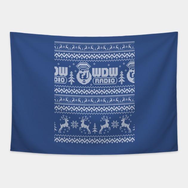 WDW Radio Christmas Sweater