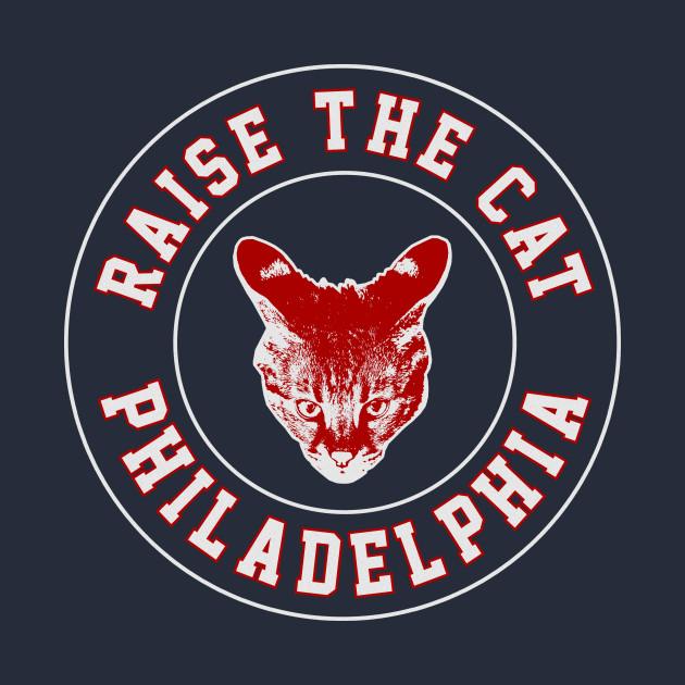 Raise the Cat Logo 1: For Morris Animal Refuge