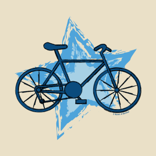 Blue Bike Star