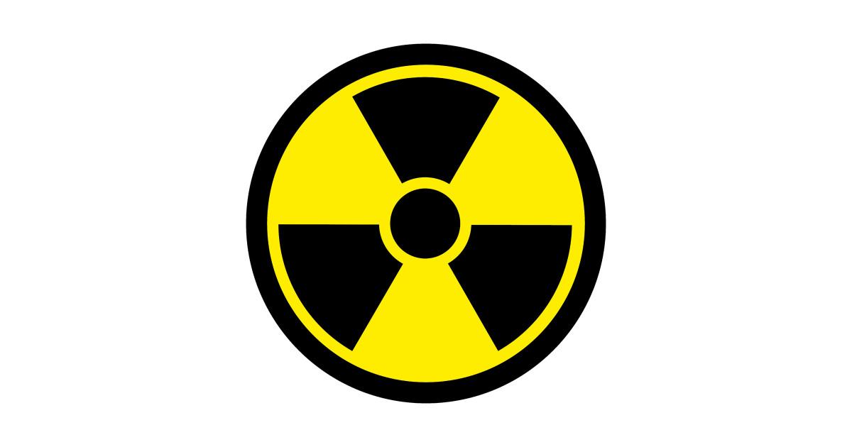 radioactive symbol - Radioactivity - T-Shirt | TeePublic