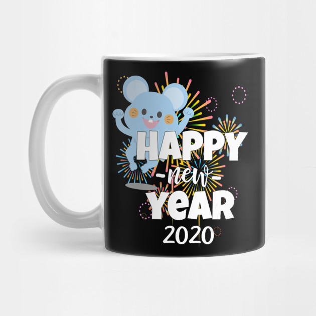 New Year's Eve Of The Rat Gift Chinese Happy New Year 2020 Mug