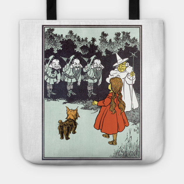 Vintage Wizard of Oz Glinda and Dorothy