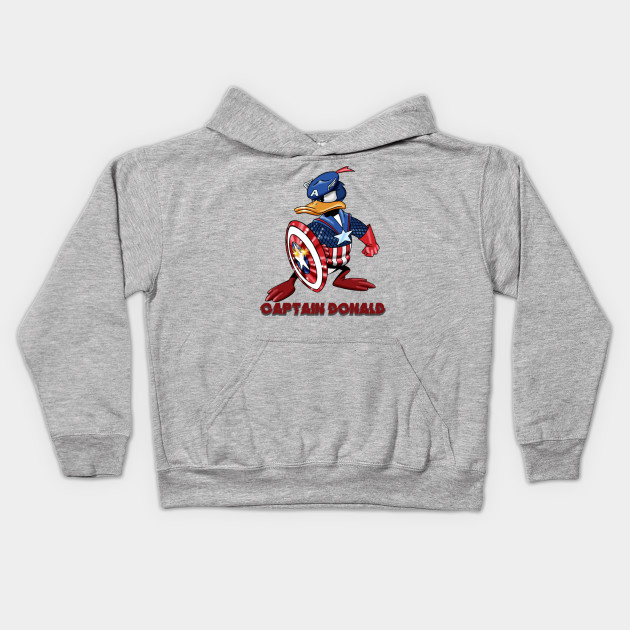 Donald Duck Captain America Marvel Character