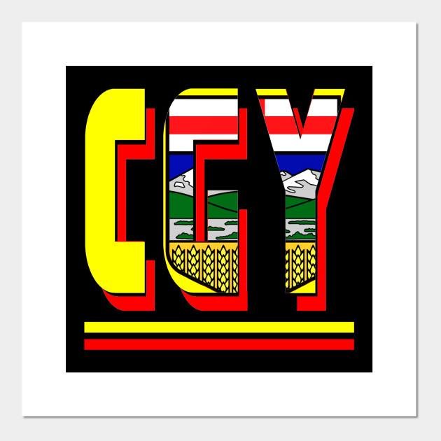 Battle Of Alberta Calgary Calgary Flames Posters And Art Prints Teepublic