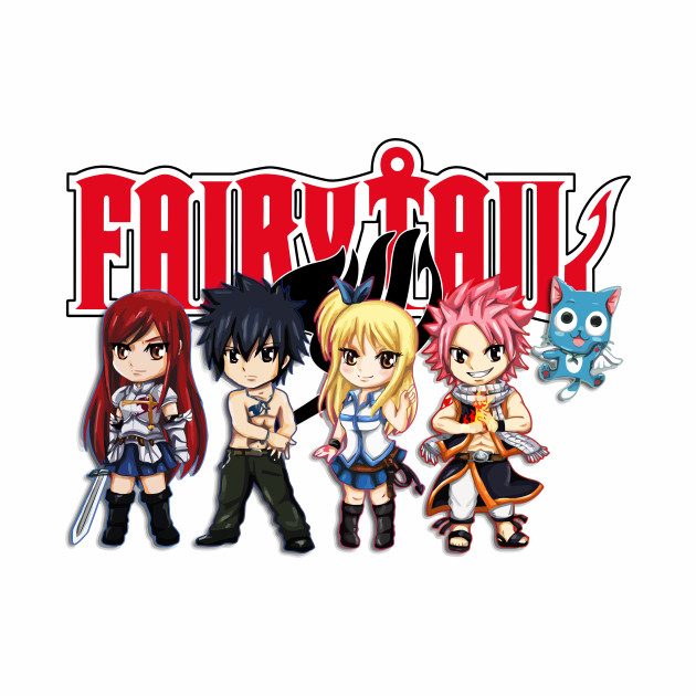 Fairy Tail Anime Group - Cute Character