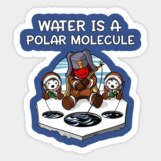 11da02c1 Water Is A Polar Molecule Geek Chemistry Science Pun - Chemistry ...