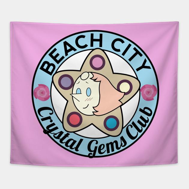 Beach City Crystal Gems Club (Pearl)