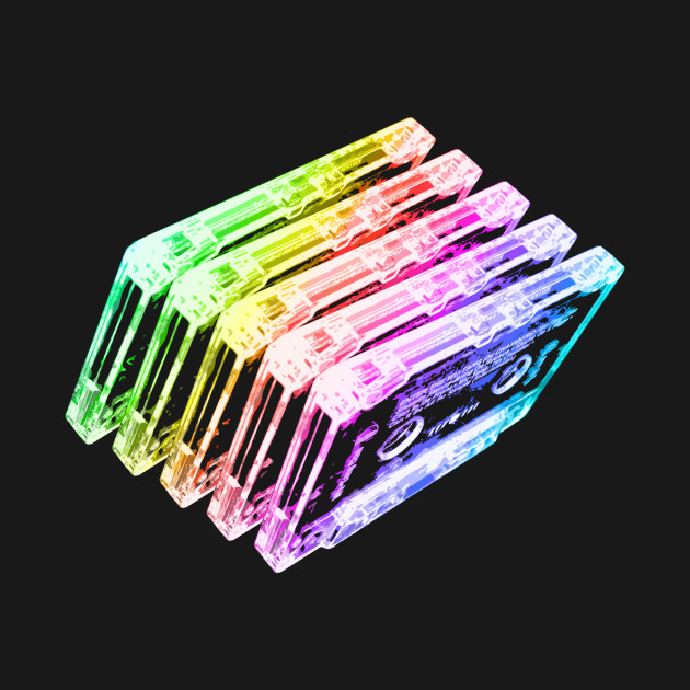 Cassette Tape Rainbow