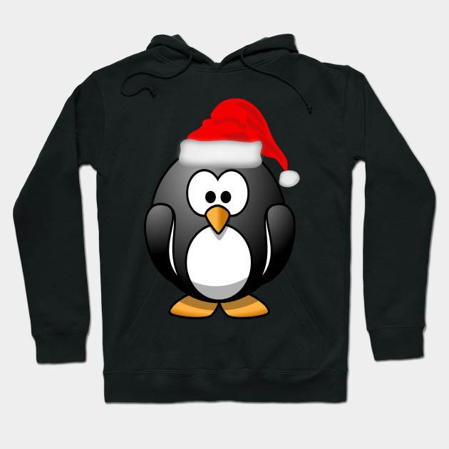 567c0ad4 Cute Christmas Penguin - Christmas - Hoodie | TeePublic