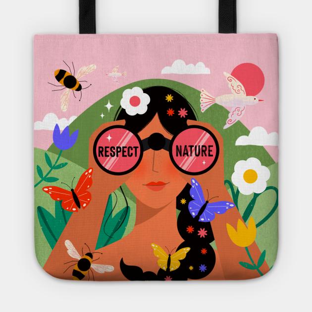 Respect Nature Girl