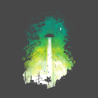 Alienation Radiation t-shirts