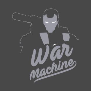 james rhodes, warmachine (var 1) t-shirts