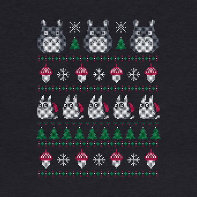 My Neighbor's Ghibli Totoro Ugly Christmas