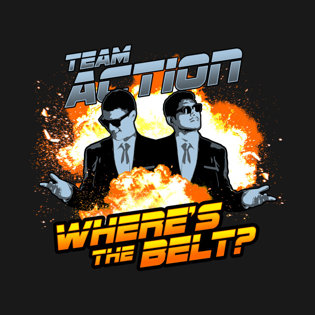 TEAM ACTION: WHERE'S THE BELT?!