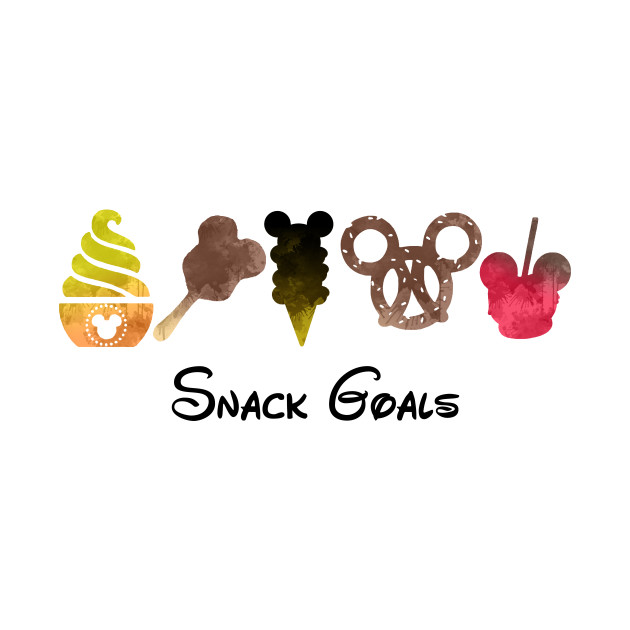 Snack Goals Inspired Silhouette - Snack Goals - T-Shirt ...