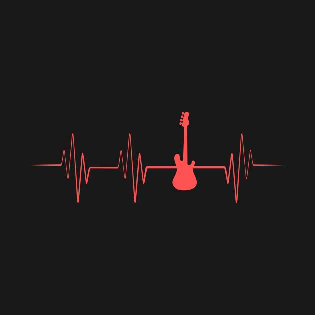 Guitar Player Heartbeat
