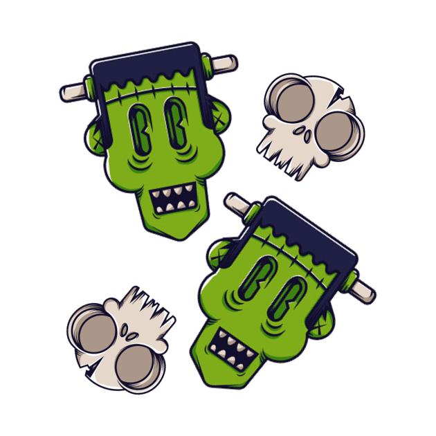 Frankenstein Monster, Frankly Funny Gifts, Halloween frankenstein Gift