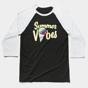 f350082dc7f4 Summer vibes Baseball T-Shirt. by bubbsnugg