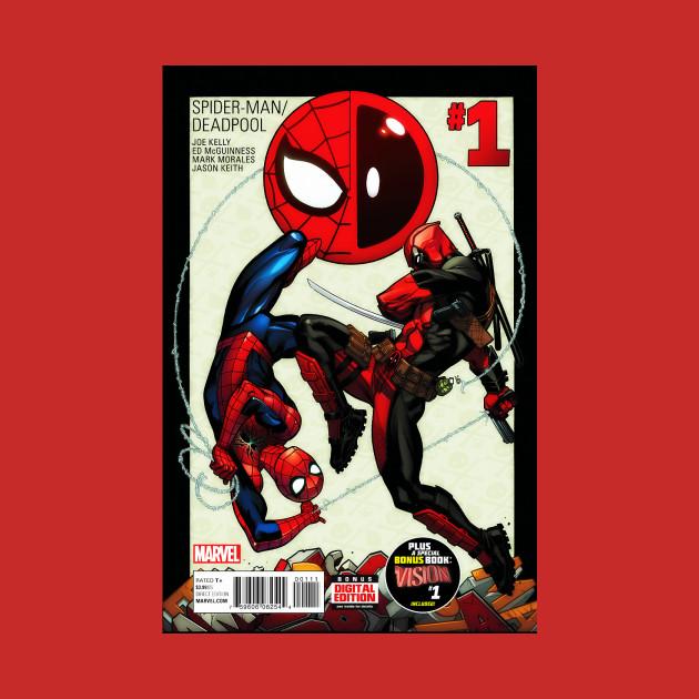 Deadpool And Spider Man 1: Spider-man/Deadpool #1 - Tchalla - T-Shirt
