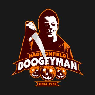 Haddonfield Boogeyman t-shirts