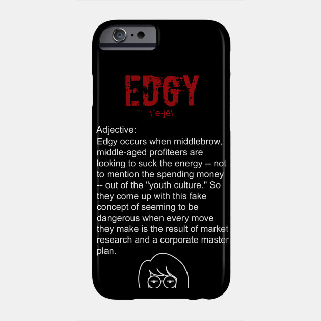 edgy iphone 7 case