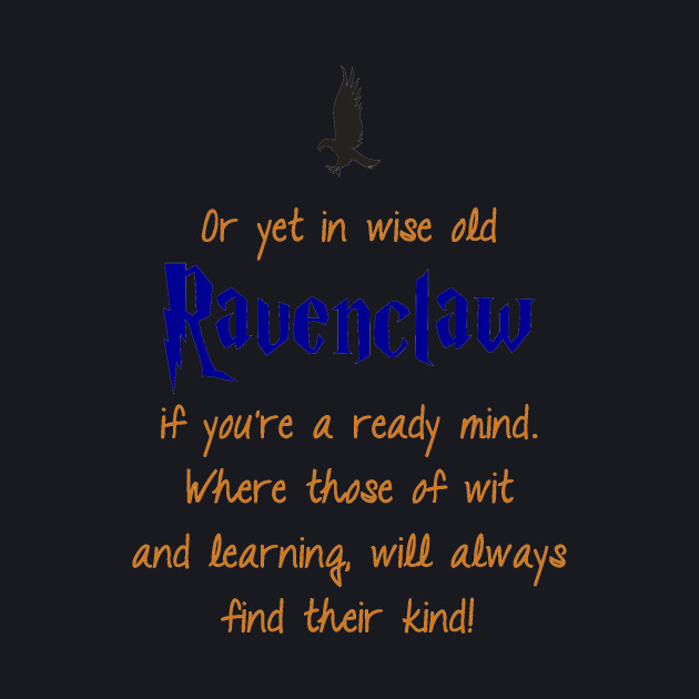 Ravenclaw (Book Colors) - Potterhead - Baseball T-Shirt | TeePublic
