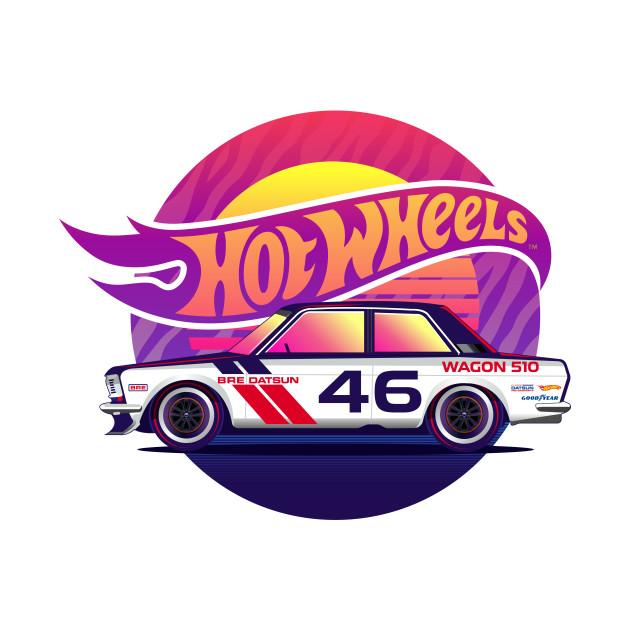 Hot Wheel Datsun Wagon
