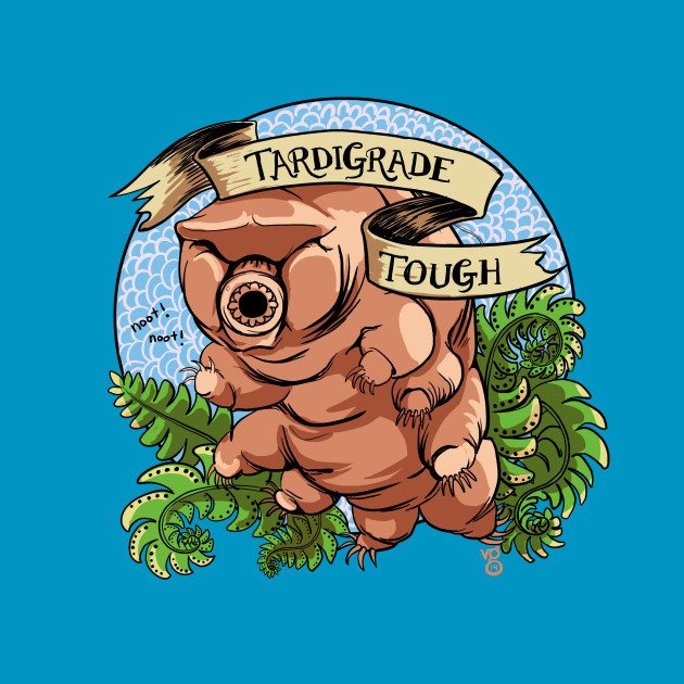 """Tardigrade Tough"" Crest"