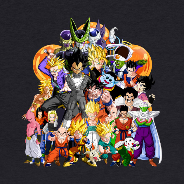 Dragon Ball Z - Another Character Collage