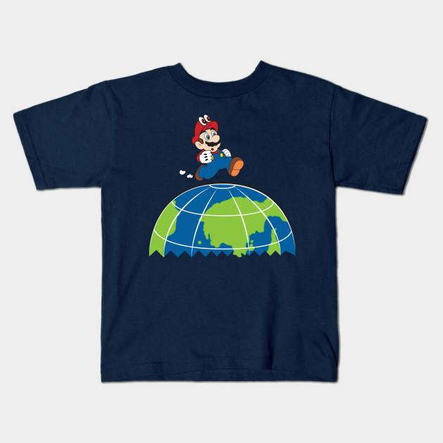 2b5a1710f86 Super Mario Odyssey - Mario - Kids T-Shirt