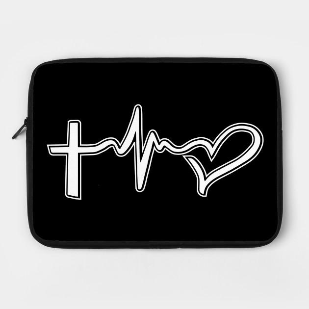 Faith Hope Love Symbols Christian Tattoo Christian Laptop Case