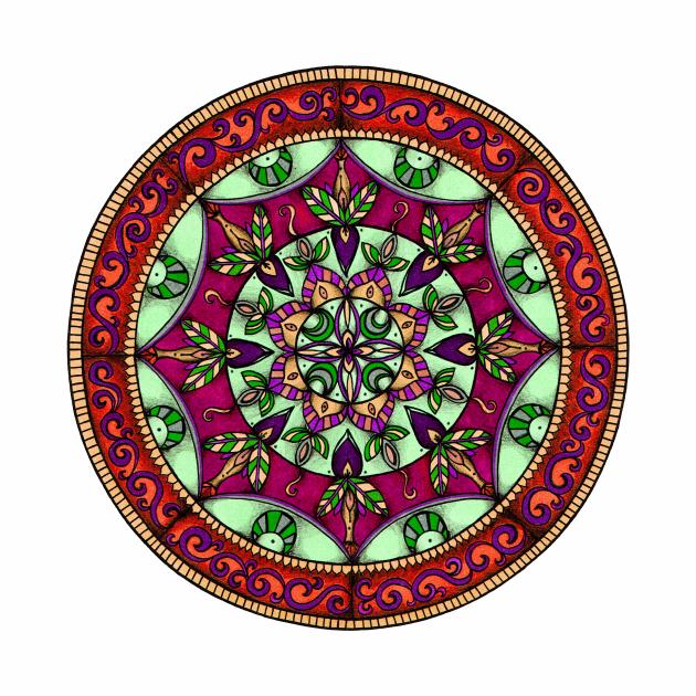 Leaf Garden Mandala