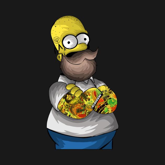 Movember Homer