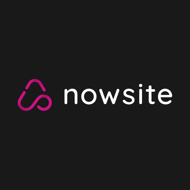 nowsite white letters