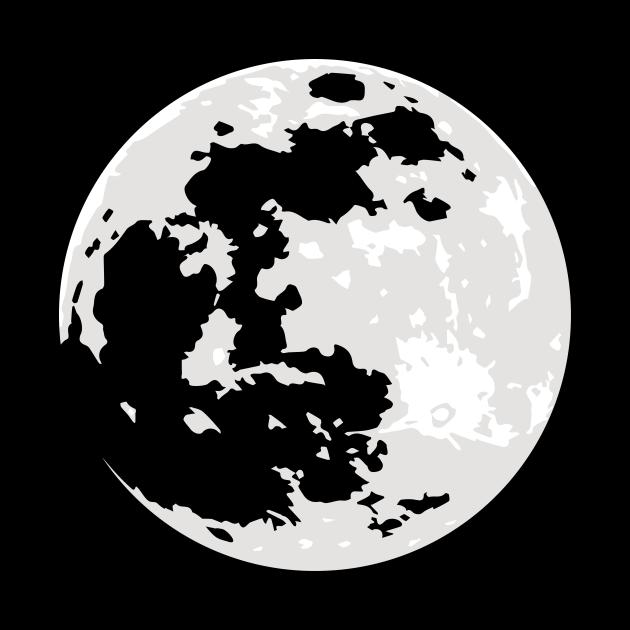 Full Moon Transparent Plains / Seas
