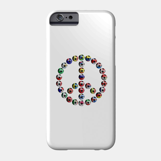 World Game 2018 Peace Symbol World Cup Russia 2018 Phone Case