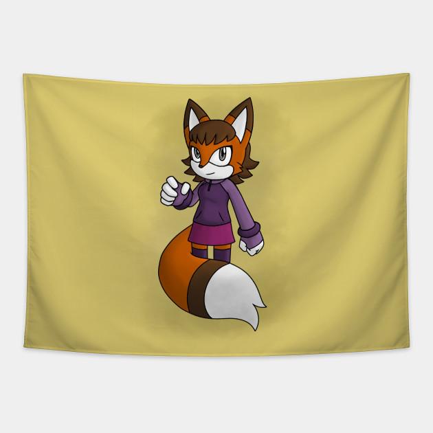 Fox in a Skirt