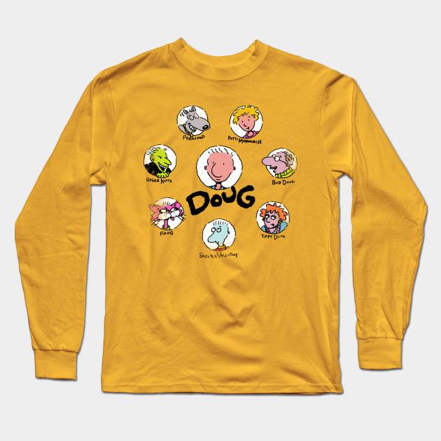 897d1537 Mr. Funnie - Doug - Long Sleeve T-Shirt   TeePublic