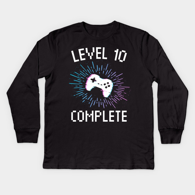 9b50deff44922 10th Birthday Gift Level 10 complete Gamer boy or girl gift Video Gaming  Birthday Party